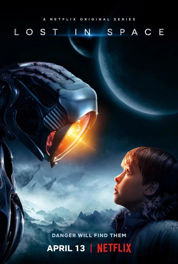Lost in Space Netflix affiche