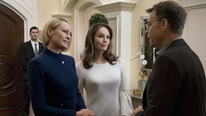 Robin Wright - Diane Lane - House of Cards saison 6