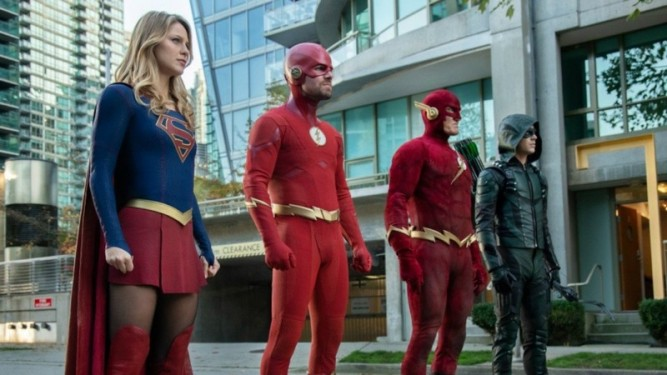 Crossover Flash - Arrow - Supergirl