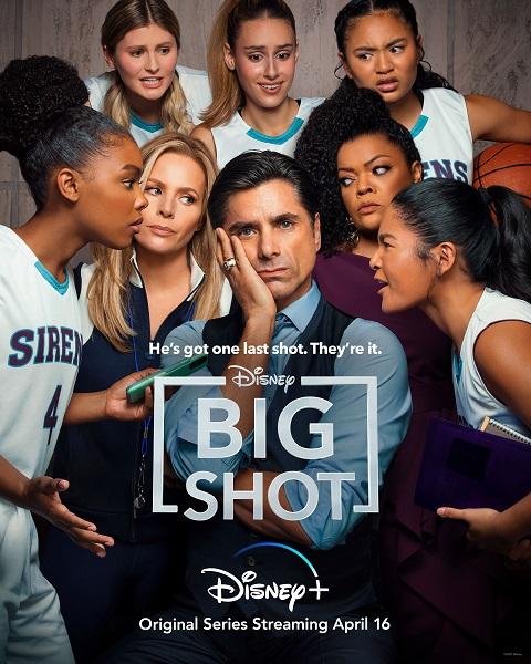 Big Shot Disney Plus poster
